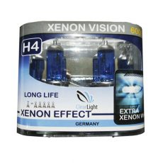 ClearLight H4 12V-60/55W EXTRA Xenon White 6000К