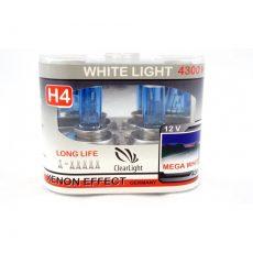 ClearLight H4 12V-60/55W MEGA WIHTE 4300К