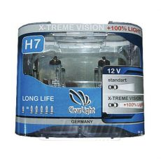 ClearLight H7 12V-60/55W X-treme Vision +100% Light