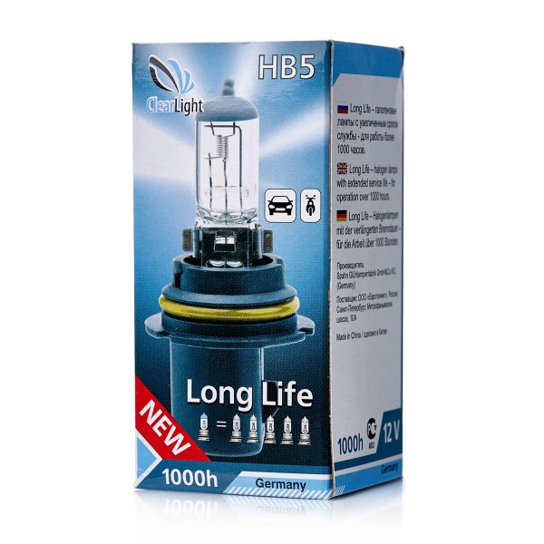 ClearLight HB5 12V-65/45W LongLife