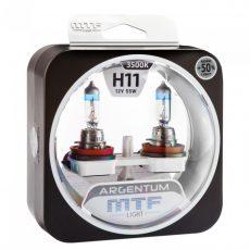 MTF H11 12V-55W Argentum +50% Light