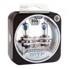 MTF H4 12V-60/55W Argentum +50% Light