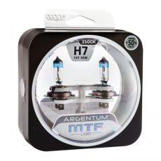 MTF H7 12V-55W Argentum +50% Light