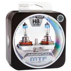 MTF H8 12V-55W Argentum +50% Light