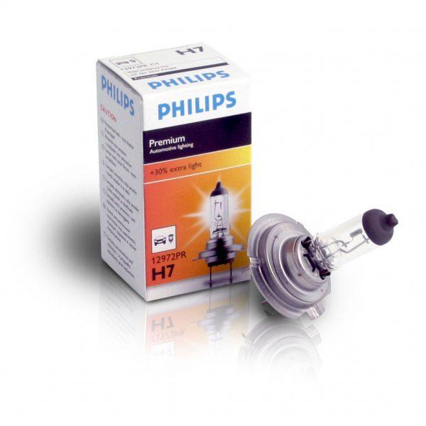 PHILIPS Premium, 12V, 55W, H7