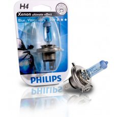 PHILIPS Blue Vision Ultra, 12V,60/55W, H4