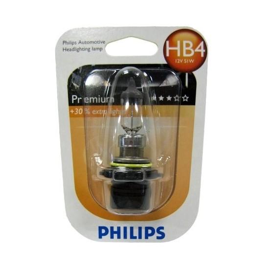 PHILIPS Premium, 12V, 51W, HB4