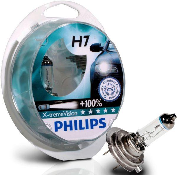 PHILIPS X-treme Vision, 12V,55W,H7
