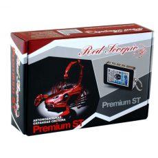 Red Scorpio Premium ST автосигнализация